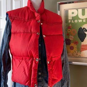Vintage Reversible Puffer Vest